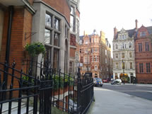 Kober-Smith and Associates, Notary Public in London, 9 Carlos Place.