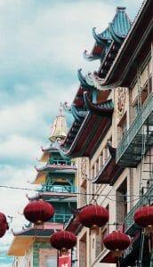 China Lantern Architecture