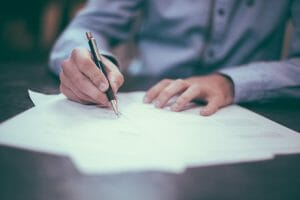 Legal Services-signing documents