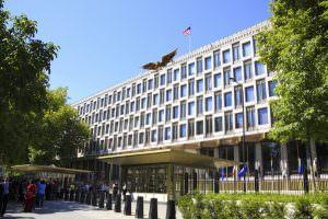 USA Embassy Notary London